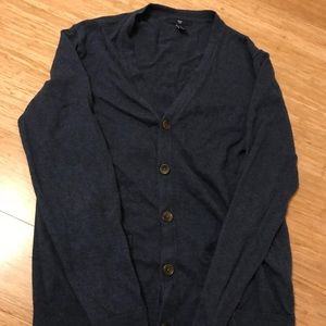 Size Small, Gap Navy Cardigan